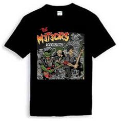 Meteors Tee These Evil Things - Meteors T-Shirts - M - Artists Psychobilly, Menswear, Artists, Mens Tops, T Shirt, How To Wear, Tee, Men Wear, Men's Clothing