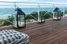 Terrasse sur bord de mer