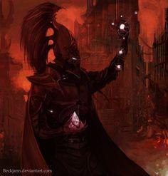 warhammer-fan-art:  Soul Trap by beckjann