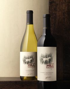 Hill Wine Company Wine Hill Wine Group Wine Label & Package Design Sustainably Grown Napa Valley Award Winning