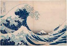 The Great Wave of Kanagawa // Katsushika Hokusai // 1832 Katsushika Hokusai was a Japanese artist, ukiyo-e painter, and printmaker from the Edo period of the and century. Hokusai is a world-renowned artist, No Wave, Great Wave Off Kanagawa, Painting Frames, Painting Prints, Art Prints, Paintings, Japanese Prints, Japanese Art, Traditional Japanese