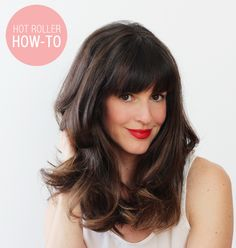 How to hot roller your hair. #oldschool #ad #sallybeauty @sallybeauty