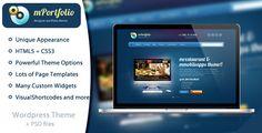 mPortfolio - A portfolio WordPress theme