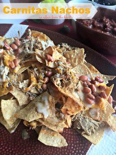 ... Carnitas and Chorizo Nachos   Recipe   Carnitas, Nachos and Chorizo