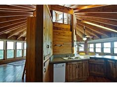 Yurt style house.