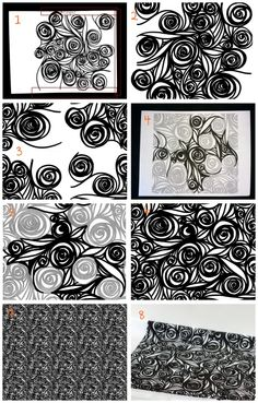 Create a repeating pattern with the help of Photoshop