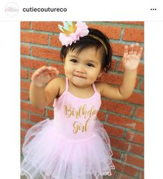 What a cutie! Love this outfit by Cutie Couture.