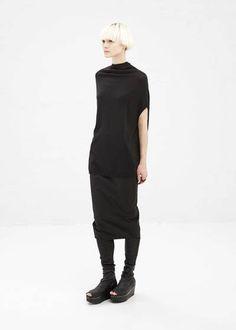 Rick Owens Pillar Skirt (Black)