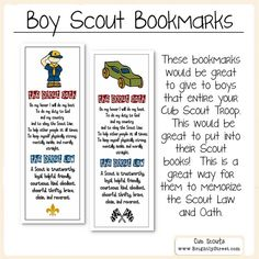 Cub Scouts Law and O