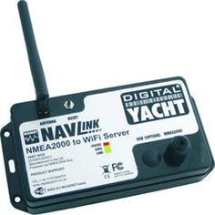 Digital Yacht NavLink Plus NMEA200 to Wi-Fi Server USB. NavLink PlusWith more and more equipment now using NMEA 2000 networking, being able to easily connect the network data to mobile devices such as smart phones, tablets and laptops is becoming an important consideration.The WLN2Net is a simple and cost effective wireless device that converts NMEA2000 data into a wireless data feed that can be received by any mobile wireless device. Using standard NMEA data formats, the WLN2Net is…