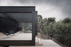 Black beauty | Architecture Now | An exterior view of the Victoria, Australia, home. Image: Shannon McGrath