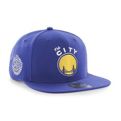 """Grab this 47 Brand Royal Blue/Yellow Golden State Warriors """"The City"""" Sure Shot 47 Captain Cap! Go get it now at http://thecapguys.com/?utm_content=buffercdee3&utm_medium=social&utm_source=pinterest.com&utm_campaign=buffer. #47brand #sureshot #47 #goldenstate #logo #snapback #basketball #hat #cap #blue #yellow #warriors #swag #me #style #tagsforlikes #me #swagger #jacket #shirt #dope #fresh"""