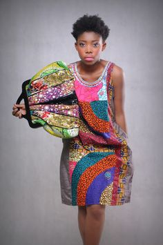 African Prints in Fashion - Inspiration for using my Ghanaian fabric.