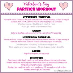 #Valentine's Day Workout 2015