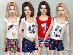 Lana CC Finds - Summer Collection-Set GP01 by lillka