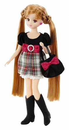 "Amazon.com: Licca Chan ""Cynthia Ribbon"" Dress Set (Doll NOT Included): Toys & Games"