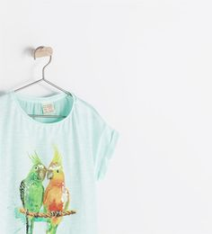 Image 3 of PARROT T-SHIRT from Zara