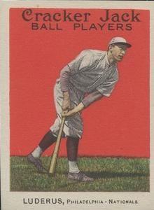 1914 Cracker Jack (E145) #45 Fred Luderus Front