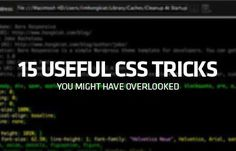 "If you have been a frontend web developer for a while, there is a high chance that you have had a moment when you were trying to find out how to code something and realised after a bit of googling, that ""there is CSS for that"". If you hadn't, well you are about to. This post is a collection of such CSS codes, that can give you features like turn an element sticky, give you dashed line underlining capabilities, flow…"