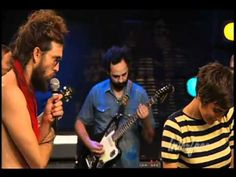 Home - Edward Sharpe and The Magnetic Zeros (Live on The Interface). They are so awkward but I love this song!