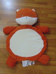 NWOT Koala Baby Fox Plush Mat by: Koala Baby Tummy Time Playmat Newborn Infants #KoalaBaby