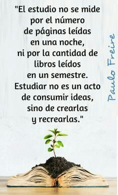 Estudiar. Paulo Freire Paulo Freire, Teachers' Day, Education Quotes, Psp, Study, Classroom, College, Teaching, Wisdom