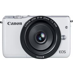 Introducing Canon EOS M10 Mirrorless Digital Camera with 22mm Lens White  International Version No Warranty. Great product and follow us for more updates!