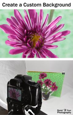 Create a Custom Photography Background | Boost Your Photography