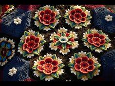 Materiales gráficos Gaby: Motivos Frida crochet