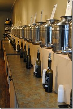 Try the flavored olive oils at Palmetto Olive Oil Company in Greenville, SC. They are delicious!!