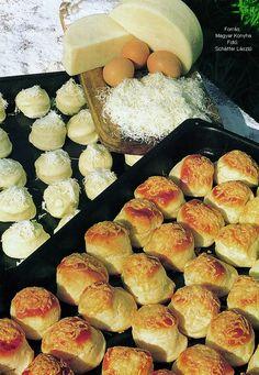 Gyúrt sajtos pogácsa – Receptletöltés Bakery, Food And Drink, Sweets, Bread, Cheese, Cookies, Ethnic Recipes, Pizza, Crack Crackers