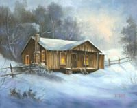 place a description for your webpage here Glue Art, Primitive Painting, Bob Ross Paintings, Oil Painting Techniques, Barn Art, Winter Painting, Art Pictures, Photos, Paint And Sip