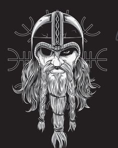 Týr - Paganfest America Tour Shirt by Chris Honeywell, via Behance