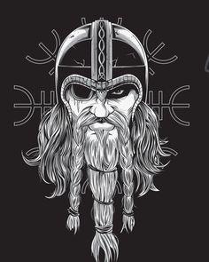 Týr - Paganfest America Tour Shirt by Chris Honeywell, via Behance