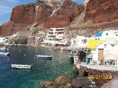 amoudi bay oia greece | Amoudi Bay - Cyclades, Oia, Greece