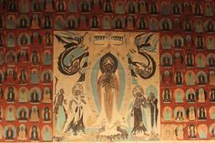 The Mogao Caves or Mogao Grottoes , also known as the Caves of the Thousand Buddhas , form a system of 492 temples 25 km (16 mi) southeast of the center of Dunhuang, an oasis strategically located at a religious and cultural crossroads on the Silk Road, in Gansu province, China. The caves may also be known as the Dunhuang Caves, however, this term also include other Buddhist cave sites in the Dunhuang area, such as the Western Thousand Buddha Caves, and the Yulin Caves farther away.
