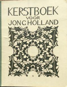 Omslag van het Kerstboek 1926, ontworpen door Edzard Koning. Daarnaast bij de kerstverhalen ca. 15 illustraties ook van zijn hand.