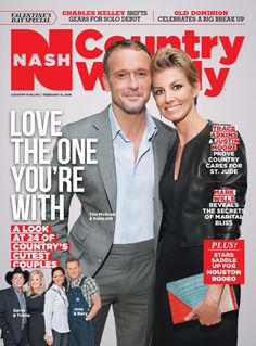 February 15, 2016 – Love the One You're With! - Magazine/Covers Archive - Nash Country Weekly