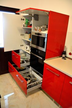 French Door Refrigerator, French Doors, Kitchen Appliances, Ferrari, Home, Design, Granite Counters, Diy Kitchen Appliances, Home Appliances