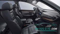 Nội thất Mazda CX-5 lại không thoáng như Honda CR-V