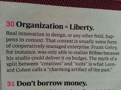 Organization = liberty