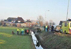 11-Dec-2013 16:59 - MAN OP LIGFIETS RIJDT IN SLOOT. Een ritje met een ligfiets eindigde voor een man vandaag in de sloot bij de kruising van de Rijksweg en de Bakboordswal in Groningen.