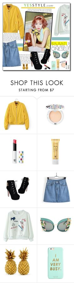 """Kpop Inspired"" by polybaby ❤ liked on Polyvore featuring Chicsense, JY Shoes, Dolce&Gabbana, ban.do and Chanel"