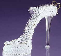 "The real ""Glass Slipper"""