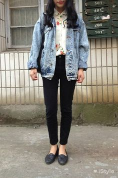 Image result for sleeveless denim jacket outfit hipster