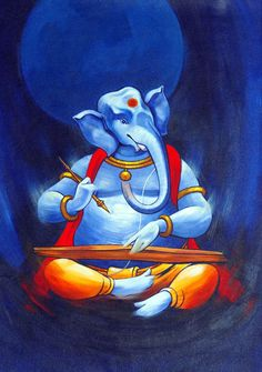 Lord Ganesha is one of the most popular Hindu deity. Here are top Lord Ganesha images, photos, HD wallpapers for your desktop and mobile devices. Ganesha Drawing, Lord Ganesha Paintings, Ganesha Art, Hanuman Images, Ganesh Images, Dancing Ganesha, Ganesh Lord, Lord Shiva, Hindu Worship