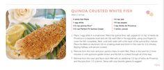 Quinoa crispy feesh