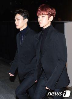 Baekhyun, Chen - 161116 2016 Asia Artist Awards, red carpet Credit: News1.