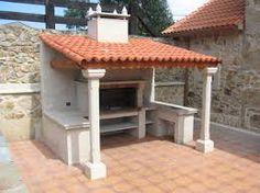 Asador de ladrillo patio pinterest for Asadores de carne para jardin