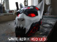 Gas Mask Art, Masks Art, Arte Ninja, Wolf Mask, New Technology Gadgets, Mask Drawing, Armor Clothing, Armadura Medieval, Cat Mask